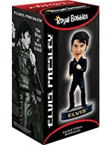 Elvis Bobblehead Black Leather 68 Comeback Special