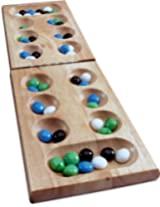 Cardinal Industries Wood Folding Mancala in Sleeve