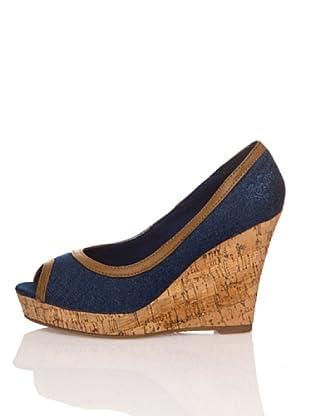 Refresh Zapatos Jeans (Azul Marino)