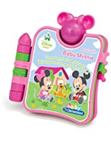Disney Baby Minnie Small Book, Pink/Green