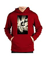 Winter Flower Men's Hoodie by Tanvi Bhandari [Toy]