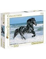 Clementoni Black Horse 500 Piece Jigsaw Puzzle By Clementoni