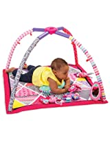 Infantino Lil Gems Twist and Fold Activity Gym and Playmat
