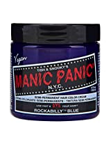 Manic Panic Classic Cream Semi-Permanent Vegan Hair Color - ROCKABILLY BLUE