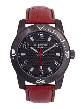 Lancaster Uhr mit Miyota Uhrwerk Sporttimeleader Black rot 44.00  mm