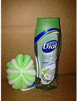 Bathing & Skin Care (Dial Coconut Water With Bath Puff)