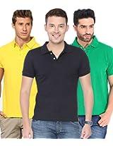 Concepts Men's Casual Shirt (TSHT_C3_GRNBYW_Multi_44)