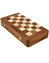 Ks Art Works Wooden Magnetic Chess Box (7x3.5)