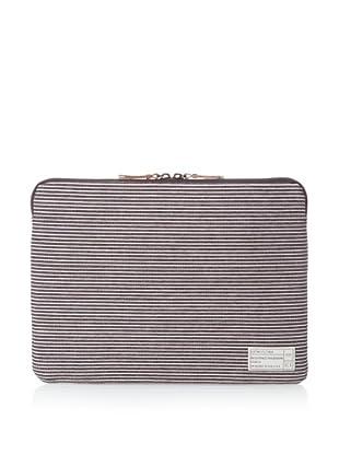 HEX Fleet 13-Inch Sleeve for MacBook Air, Black/Grey Stripe