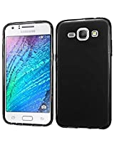 CLOROX PUDING TPU BACK COVER FOR SAMSUNG GALAXY J1 ACE (BLACK)