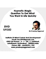 Hypnotic Magic Questions To Get What You Want In Life Quickly, DVD