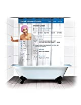 180cm Funny Social Facebook SNS Bathroom Waterproof Fabric Shower Curtain