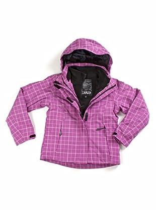 F.lli Campagnolo Mädchen Jacke Zip Hood (Pink)