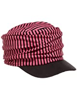 San Diego Hat Little Girls'  Stripe Baseball Cap