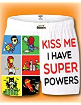 I have SuperPowers Boxer Shorts Womens Medium