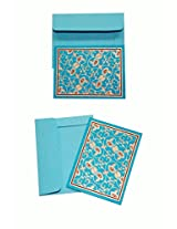 Swarn Gift Cards JAAL BLUE Pack of 10 SMALL