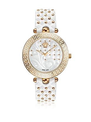 Versace Uhr mit schweizer Quarzuhrwerk Vanitas VK7010013 weiß 40.00 mm