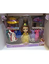 Disney Sofia The First Deluxe 25+ Piece Wardrobe Set 6 Different Outfits