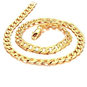 18K Gold Plated Necklace for Men by Sopo