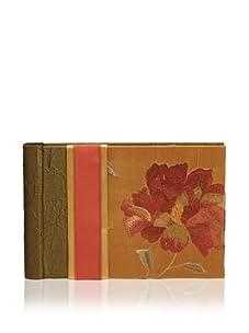 Molly West Crimson Bloom-Brag Book, Green/Orange