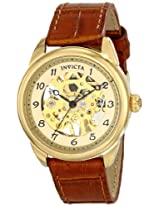 Invicta Women's 17199 Specialty Analog Display Mechanical Hand Wind Brown Watch