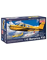 Minicraft Bonanza F-33 Airplane Model Kit (1/48 Scale)