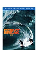 Point Break (2015) (3D Blu-ray + Blu-ray + DVD +UltraViolet Combo Pack)