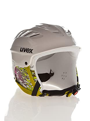 Uvex Casco Ski X - Ride Junior (Blanco / Rosa)