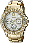 XOXO Women's XO5651 Gold-Tone Bracelet Analog Watch