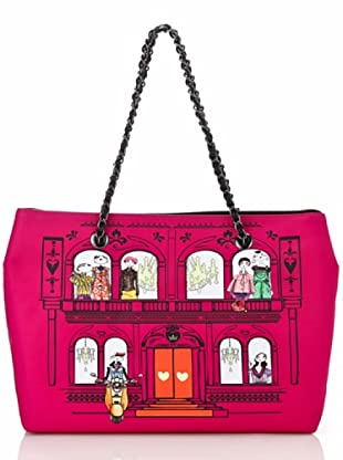 Love Moschino Shopping House fucsia
