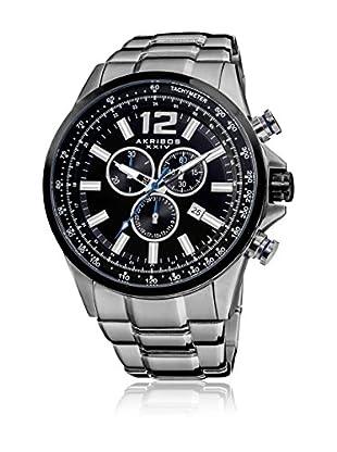 Akribos XXIV Uhr mit schweizer Quarzuhrwerk Man AK619SS 49.0 mm