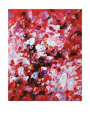 Legendarte Pintura al Óleo sobre Linezo Folla Di Colori