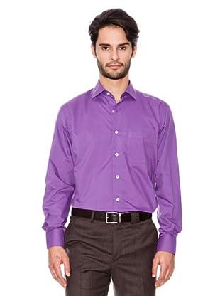 Pierre Cardin Camisa Clásica (Violeta)