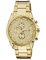 Citizen Analog Beige Dial Men's Watch - AN3562-56P
