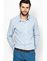 Striped Blue Casual Shirt I Know