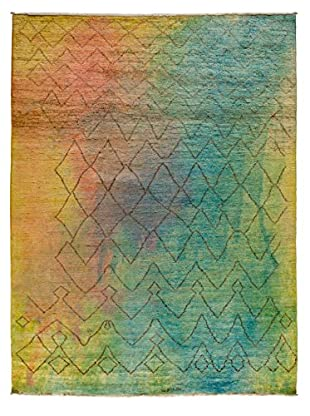 Solo Rugs Moroccan One-of-a-Kind Rug, Rainbow, 8' 2