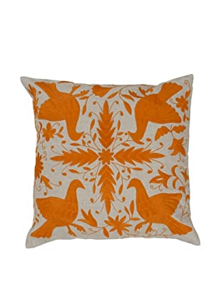 Surya Patterned Throw Pillow (Aluminum)