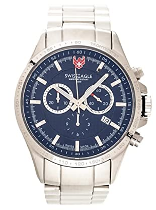 Swiss Eagle Reloj Field Corporal azul