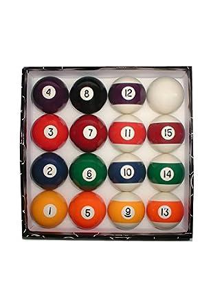Trademark Games Deluxe Billiard Pool Ball Set, Multi