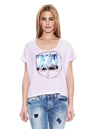 Pepe Jeans London Camiseta Sheringham (Morado Claro)