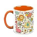HomeSoGood Animals In Random Mood Coffee Mug