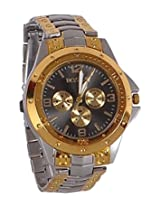 Fighter Gold Rosra Classic Men's Analog Watch - RosraSGBD