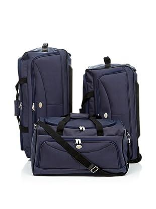 American Tourister Set de maletas Arlington (Azul)
