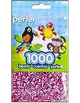 Bulk Buy: Perler Beads Raspberry Pearl Stripe 1,000 Count (3 Pack)