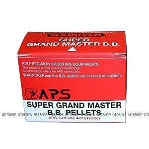 【クリックで詳細表示】APSスーパーグランドマスターBB弾(500発入り)
