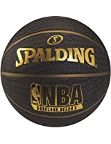 Spalding Fast S Highlights Series, Size 7 (Black/Gold)