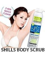 AUTHENTIC SHILLS Bubble Body Scrub Chamfer Refined Skin Texture skin care 250 ML