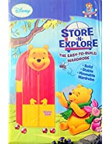 Disney Pooh Design Almirah