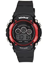 Disney Digital Black Dial Children's Watch - DW100405