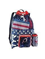 TYR Big Mesh Mummy Backpack (Red/Navy)
